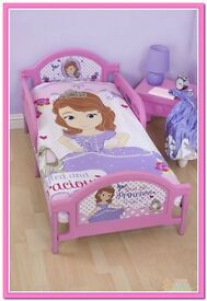 sofia the first amulet junior/cotbed duvet set (new)