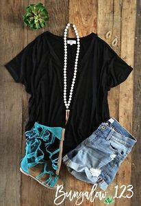 OVERSIZED DOLMAN TEE-BRAND NEW!