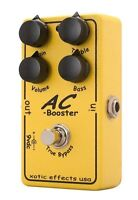 Pédale overdrive Xotic AC booster