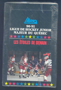 LHJMQ (QUEBEC LEAGUE) .... 1990-91 box - possible MARTIN BRODEUR