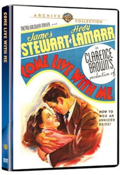 COME LIVE WITH ME - (B&W) (1940 James Stewart) Region Free DVD - Sealed