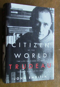 Citizen of the World, Life of Pierre Elliott Trudeau, Vol 1 Kitchener / Waterloo Kitchener Area image 1