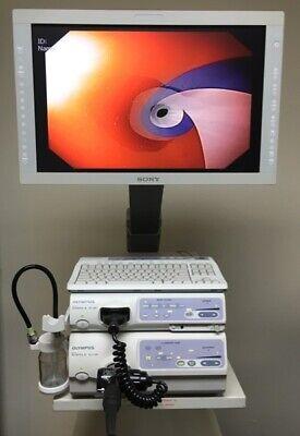 Olympus Cv-180 Hd Evis Exera Ii Video Endoscopy System Endoscope