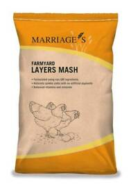 Marriages layers mash (chicken / hen food)