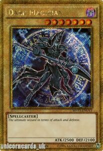 MVP1-ENGV3 Dark Magician Gold Secret Rare Limited Edition Mint YuGiOh Card