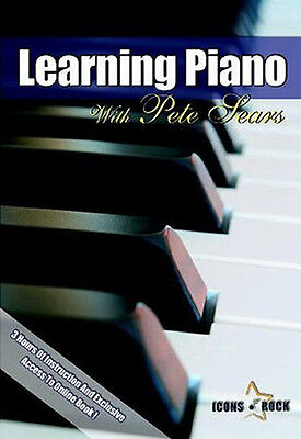 LEARN TO PLAY THE PIANO LESSONS FOR BEGINNERS DVD VIDEO FREE USA Shipping! for sale  Shipping to South Africa