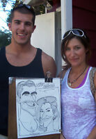 Live Caricatures for Parties or Other Events!
