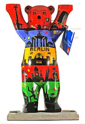 BUDDY BEAR Berlin Horizonte NEU 6cm Berliner Motive Bär Souvenir
