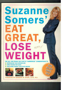 EAT GREAT, LOSE WEIGHT/SUZANNE SOMERS' MEDITERRANEAN DIET London Ontario image 1