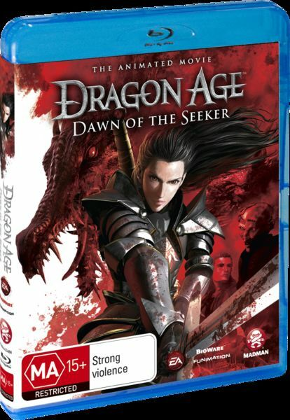 Dragon Age - Dawn Of The Seeker (Blu-ray, 2012) Region A or B