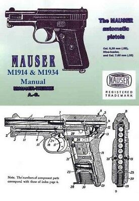 Mauser Model 1914 & 1934 Automatic Pistol Manual
