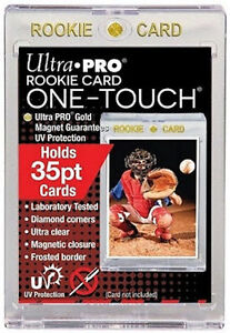Ultra Pro .... ROOKIE CARD 1 Touchs ... 35 point ... box of 25