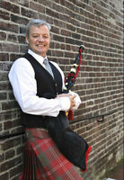 Vancouver Bagpiper available