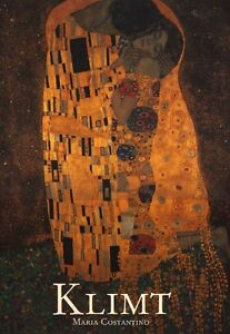 KLIMT by Maria Costantino (GUSTAV KLIMT ART BOOK WITH COLOUR PLA