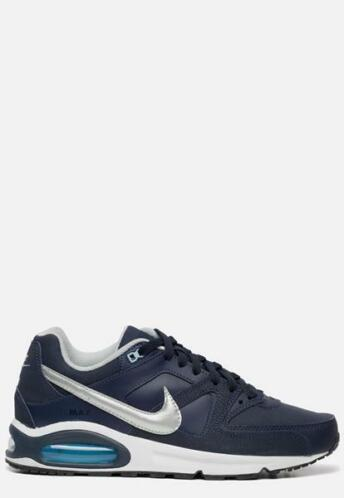 nike air max command leather blauw