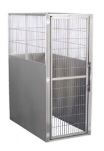 Shor-line Professional Stainless Steel Dog Kennels