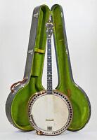 1926 Vintage Ludwig Kingston Banjo - Antique Instrument