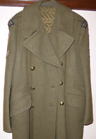 Vintage Military Great Coat