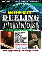 The DUELING PIANOS Show of Saskatchewan Fun REQUEST SHOW Booking