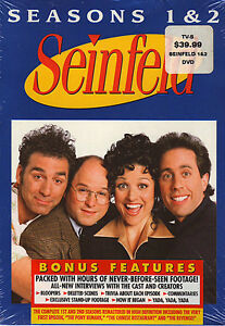 SEINFELD SEASONS 1 & 2 DVD REMASTERED BOXED SET SEALED