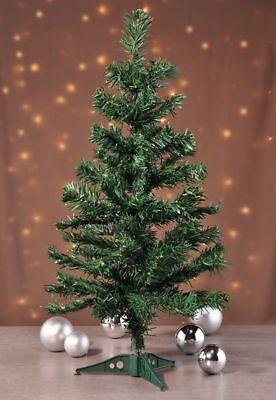 Árbol de Navidad Árbol Abeto Soporte 60cm Verde