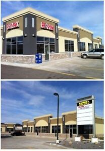 Retail/medical space in Fort Sask on Hwy 21 across Dow Rec