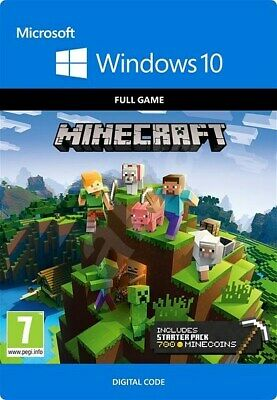 🔥Minecraft Windows 10 Edition - KEY - Full Game -Instant Delivery-no box