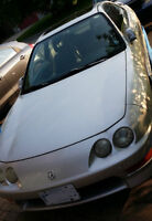 1999 Acura Coupe gs honda leather sport mags spoiler project