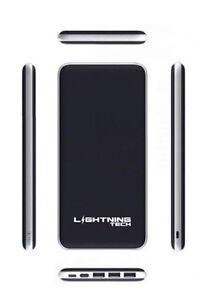 Lightning tech 10k-20k mAh chargeur external portable power bank