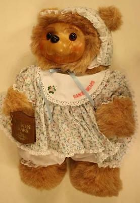 Robert Raikes SUSIE Bear # 17008 Limited Edition W/Box-Certificate !988 Vintage