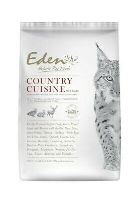 Eden 85/15 Country Cuisine Cat, Kitten & Senior Dry Food Grain Free 4kg