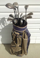 complete set men's RH golf clubs