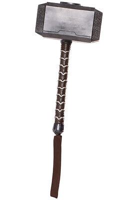 Marvel Avengers Endgame - Thor Hammer Weapon/Prop Accessory - Child (Thor Kids Hammer)