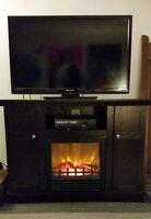 Nice Electric Fireplace- QUICK SALE!