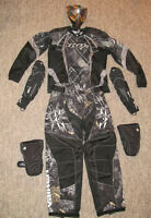 Paintball Protective Gear Set- Mask, pants, jersey, pads