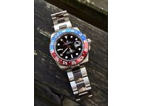 Rolex (pepsi) Gmt II automatic watch