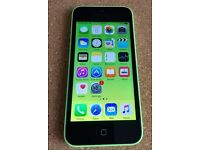 iPhone 5c 16gb green unlocked. Immaculate