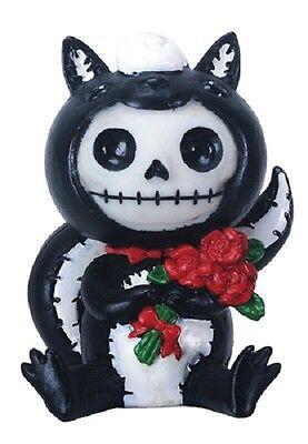 NEW Furrybones Furry Bones Odo Skull Skeleton Skunk Figurine Gift 8522 - Skunk Skeleton