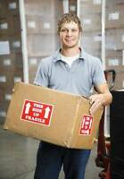 Strong Shipper/Receivers Needed! All Shifts Available!