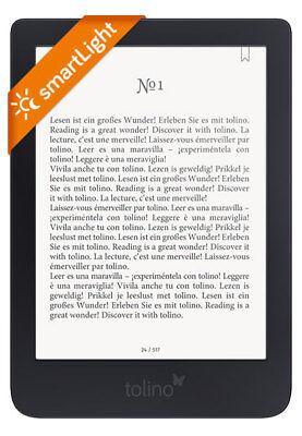 tolino shine 3 ebook Reader mit integrierter Beleuchtung und WLAN