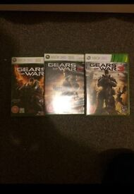 Gears of war bundle/ all compatible with Xbox one