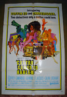 VERY RARE 1970 COTTON COMES HARLEM BLAXPLOITATION MOVIE POSTER