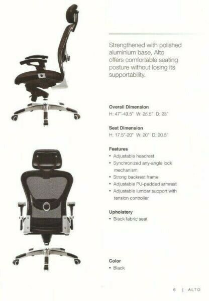 Shop at Avios Office Furniture for the most complete range of Tatina Office Chair. call 6689 1901