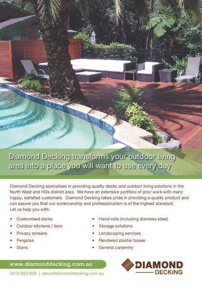 Diamond decks patios carpentry gumtree australia for Garden decking gumtree