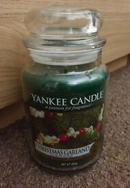 Large Yankee Christmas candle