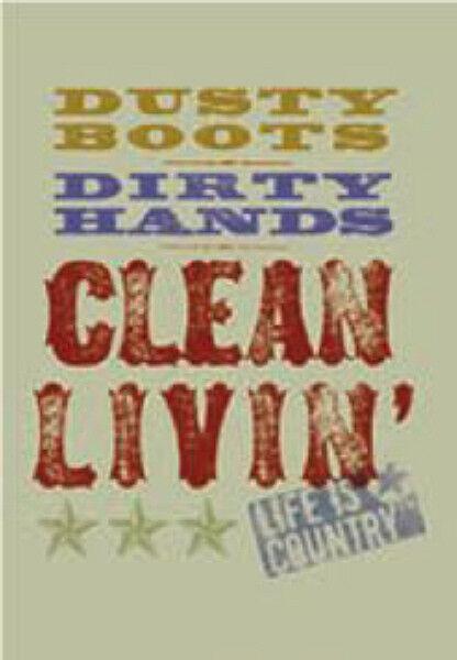 """LEANIN TREE """"Dusty Boots - Clean Livin"""