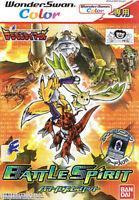 WonderSwan Color Game - Digimon Tamers: Battle Spirit