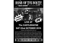 Rock covers at the Castlemayne tonight from 9 Sons of the South