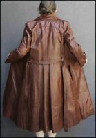 Manteau de cuir souple