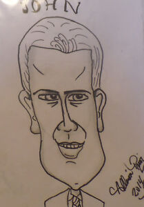 Learn how to draw Caricatures lessons St. John's Newfoundland image 4